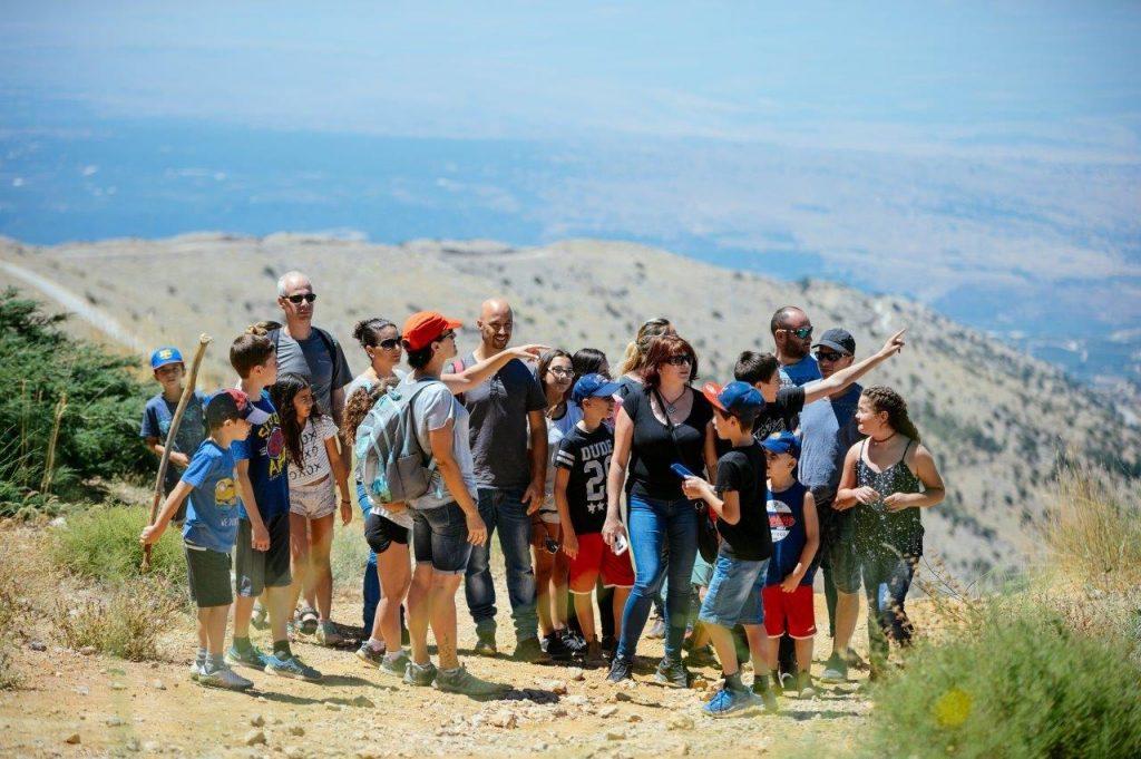 A guided tour in the Hermon. Photo: Adi Peretz