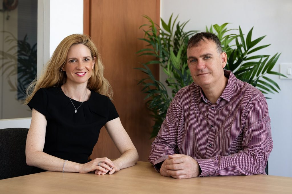 IRP Systems co-founders Moran and Paul Price. Courtesy