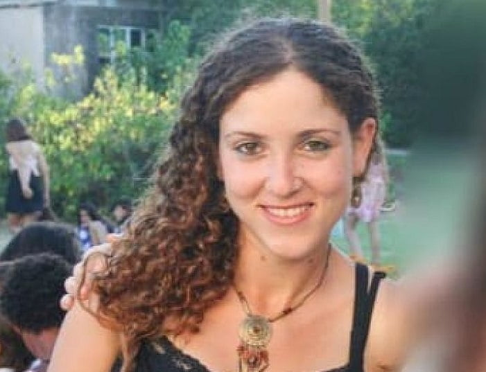 Michal Sela, 32, was murdered in her Jerusalem home in October 2019. Her husband has been charged with murder. Courtesy