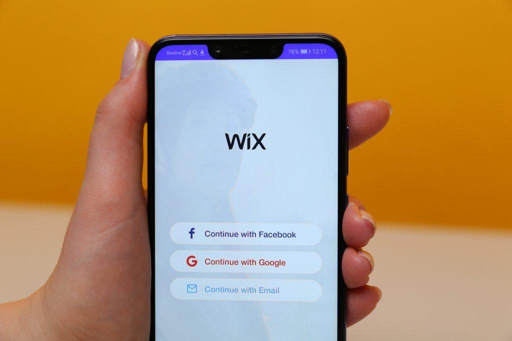 Wix app. Deposit Photos