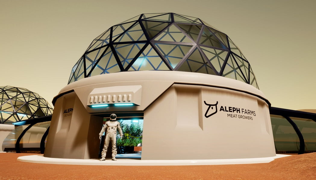 Aleph Farms Looks To Take Its Lab-Grown Food Production To Space